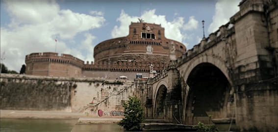 steadicam documentari Roma